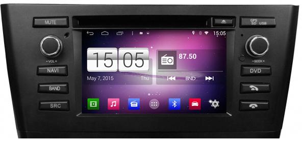 Navidroid® BMW Serie 1 (E81/E82/E87/E88) - Android 4 4 4, GPS, 6 2