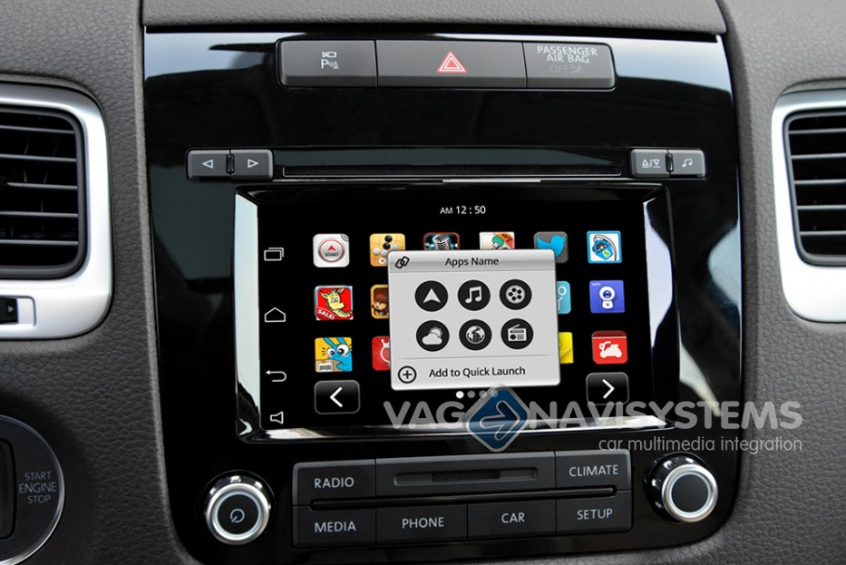 navegador vw touareg 7p rcd 550 t ctil android gps. Black Bedroom Furniture Sets. Home Design Ideas