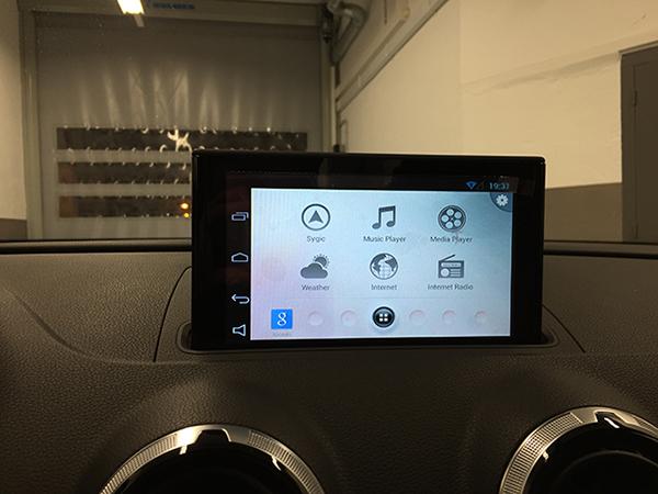 Audi A3 (8V) - Servicio de instalación - Sistema de