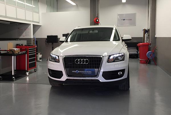 Audi Q5 (8R) - Servicio de instalación - NaviTouch® Android