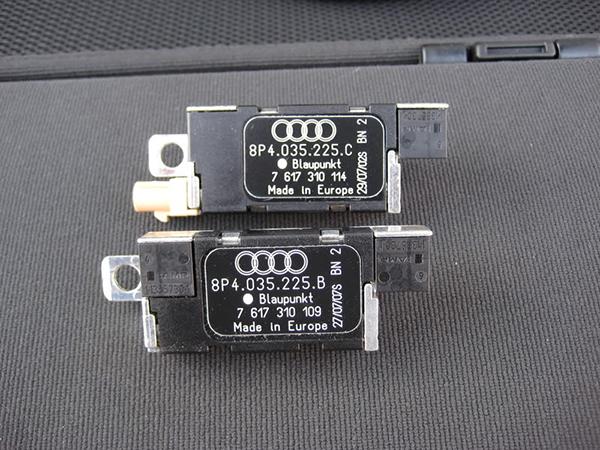 AUDI A1 8X  A3 8P 8PA  A4 B7 B8 8E 8H  doppel 2 Fakra diversity Antennen Adapter