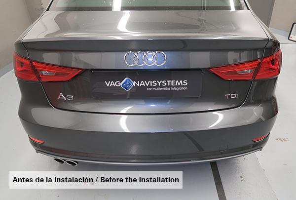 Instalaci 243 N Multiple En Audi A3 Sedan 8v Vag Navisystems