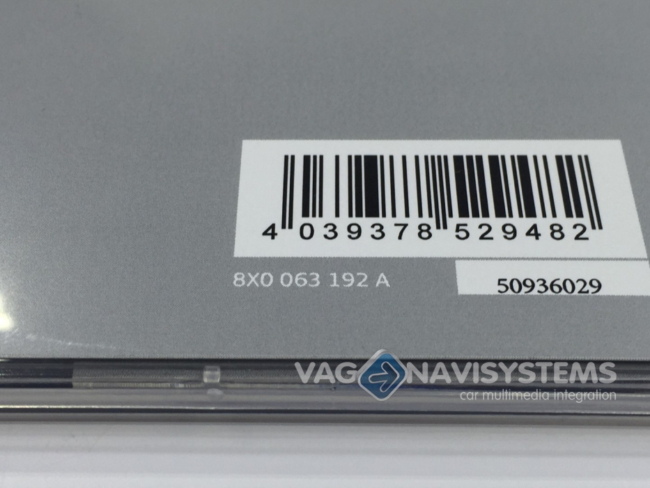8X0063192A - Navigation function retrofit - Q3 (8U) | VAG