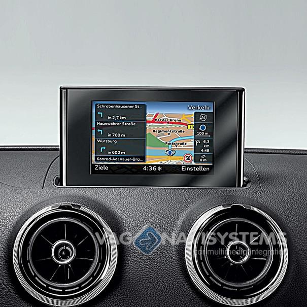 Navigation function retrofit - Audi A3 (8V) with MMI