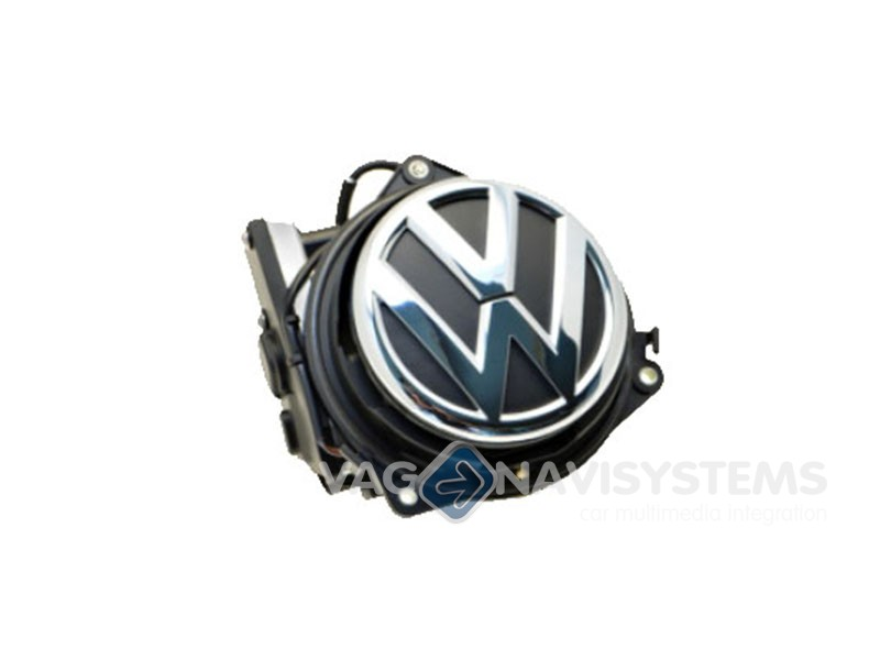 camara aftermarket logotipo vw golf   vi  eos  passat  polo