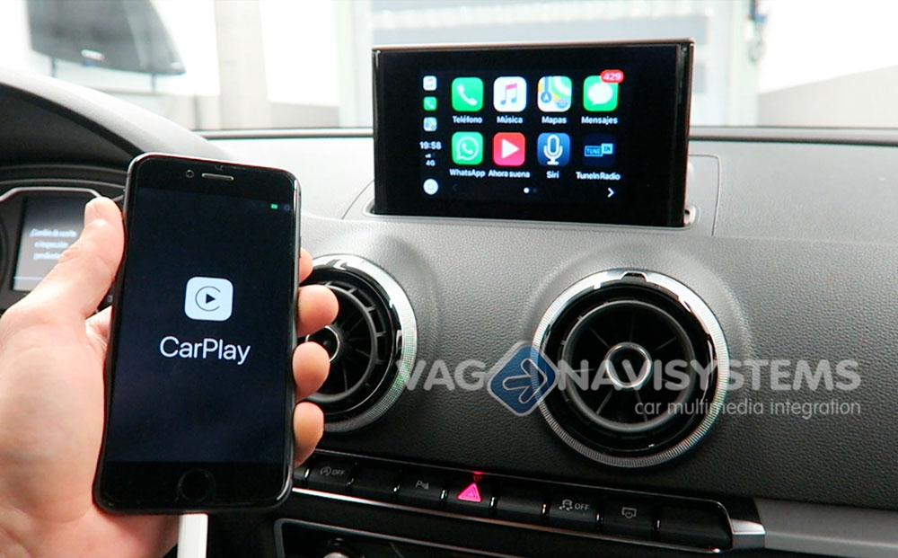 Audi A3 (8V), Q2 (GA) - Apple CarPlay + Android Auto