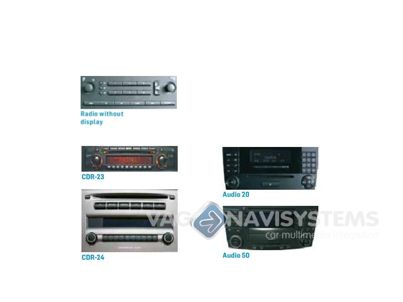 GWL1MO1 Car iPod//USB MOST Adapter Dension Lite for Mercedes-Benz//Porsche//Saab