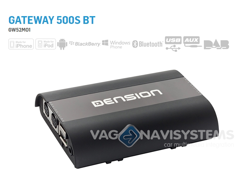 Dension Gateway 500S BT - GW52MO1 - Audi MMI 2G Basic & High - MOST