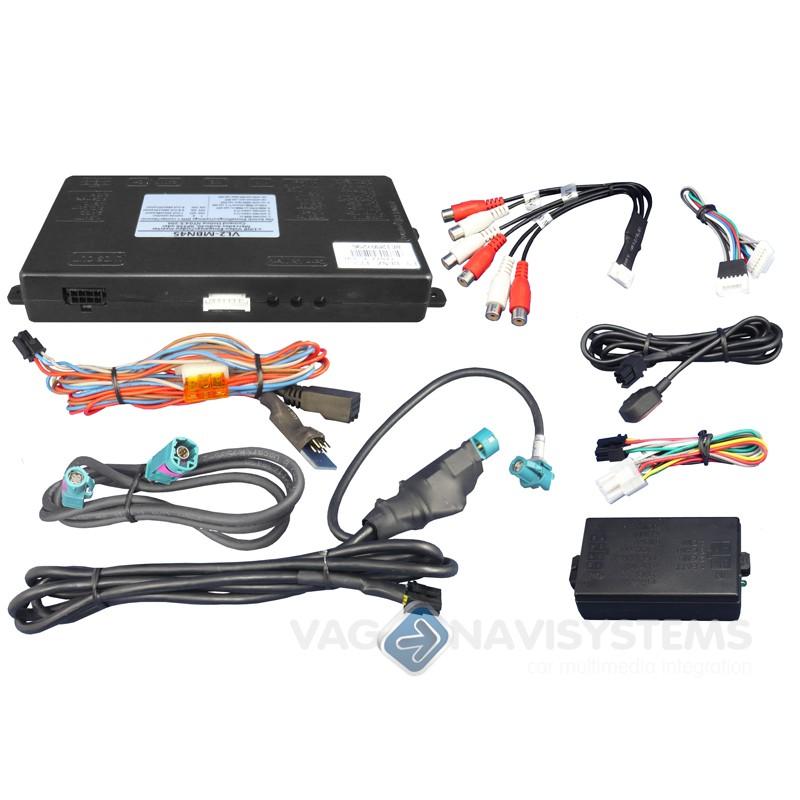 Video Interface V Link 2x Video Rvc Rgb Input Mercedes