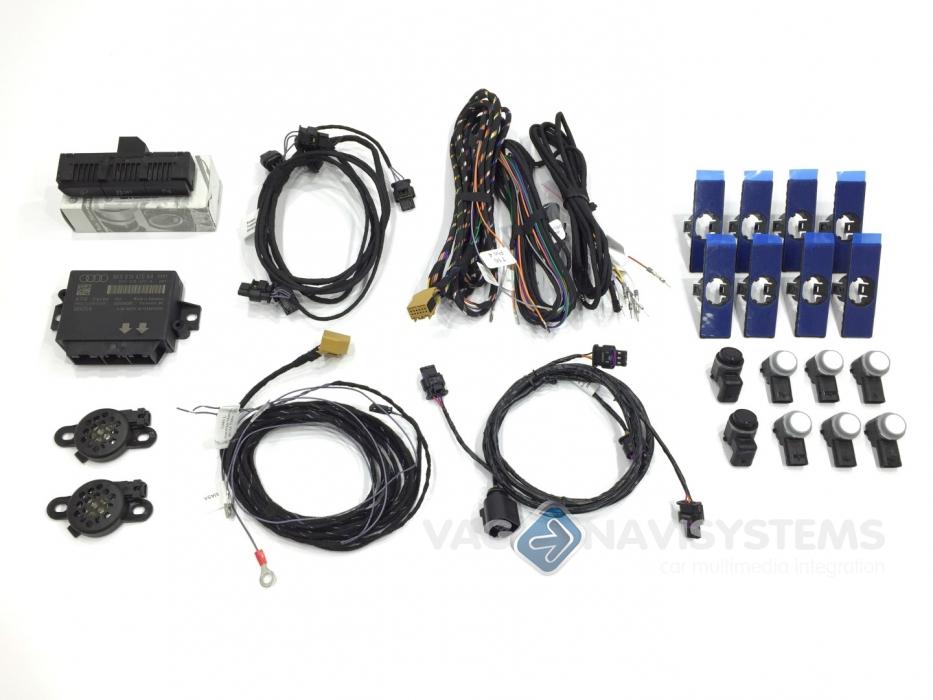 12 meses de garantía Audi a4 a5 PDC unidad de control 8k0919475d asistente aparcamiento parking