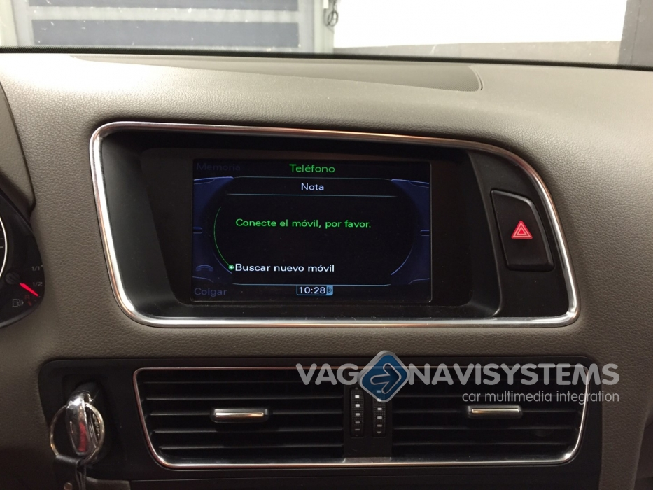 Retrofit set - Bluetooth Audi MMI 3G, 3G+ - Volkswagen RNS 850
