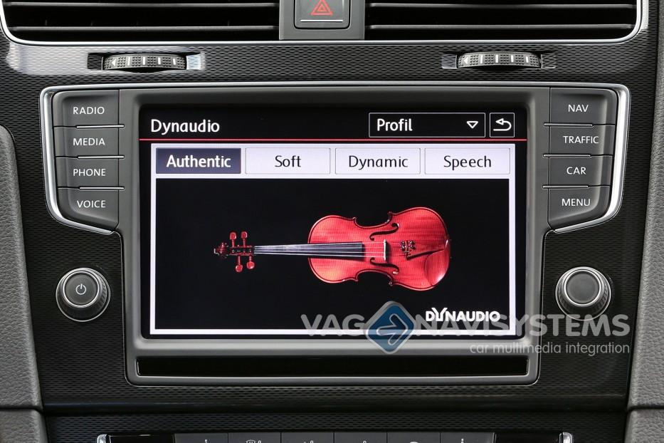 kit de reequipamiento sistema de sonido dynaudio vw. Black Bedroom Furniture Sets. Home Design Ideas