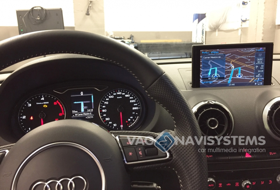 Audi MMI Navigation Plus MIB 1 incl  Navigation GPS