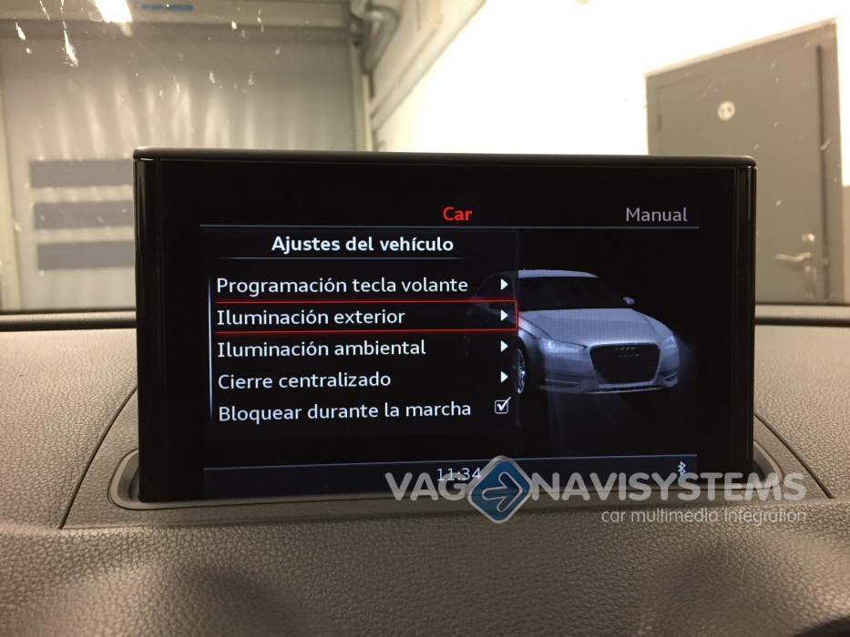retrofit kit mmi navigation plus with mmi touch maps included at rh vag navisystems com Audi A3 LED Headlights Audi A3 Sunroof