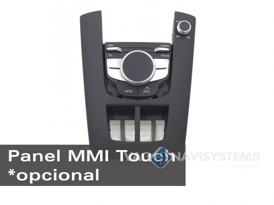 Retrofit kit - MMI Navigation plus with MMI touch (maps included at