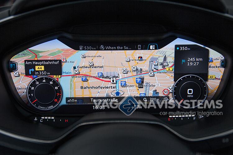 Retrofit Kit - Original Navigation Audi Navigation Plus