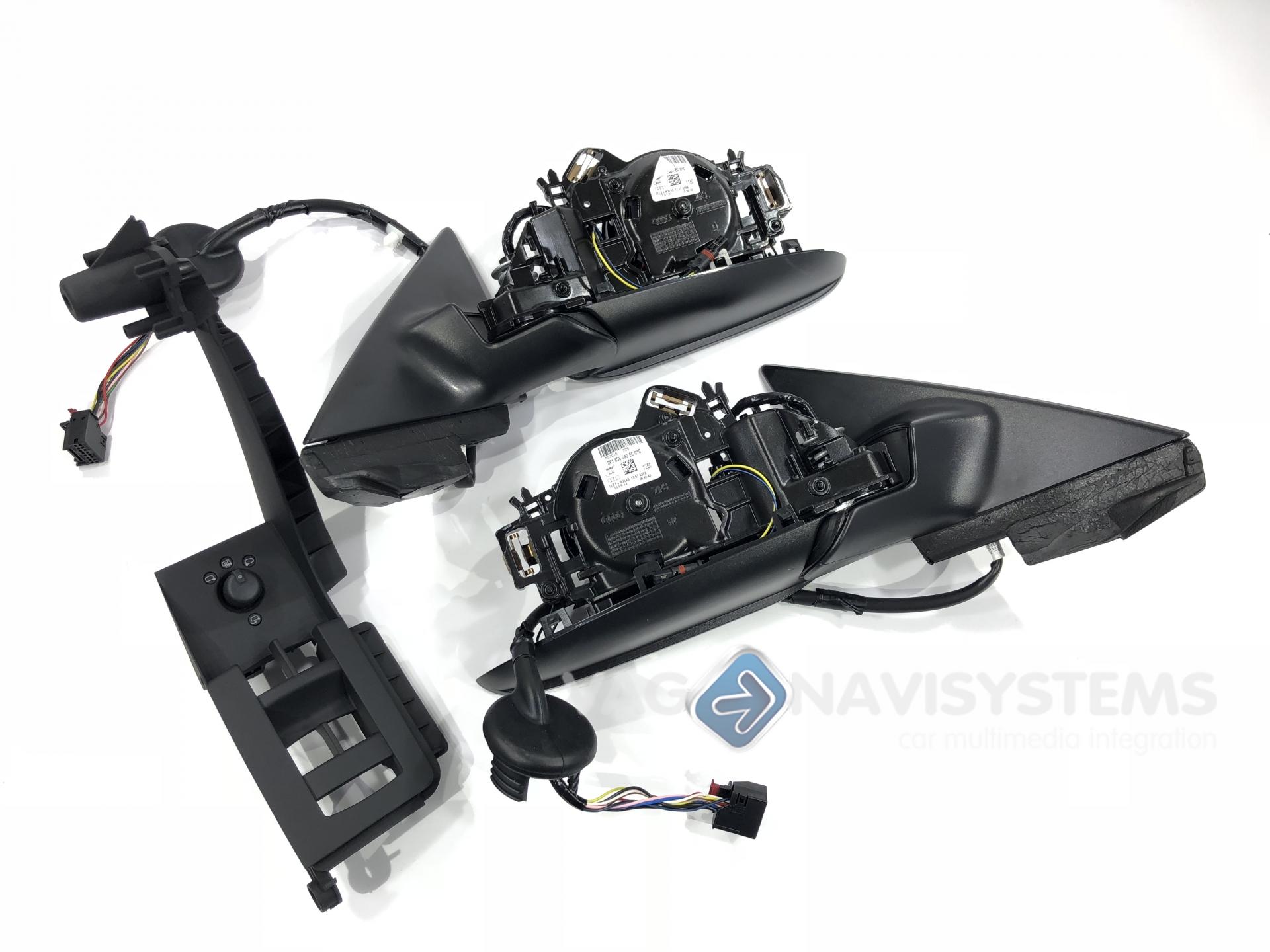 Retrofit set - Folding mirrors - Audi A3 (8P) - A3 (8P/8PA/Cabrio