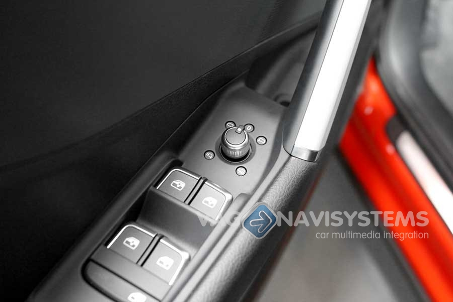 Retrofit set - Folding mirrors - Audi Q2 (GA) - Novedades   VAG