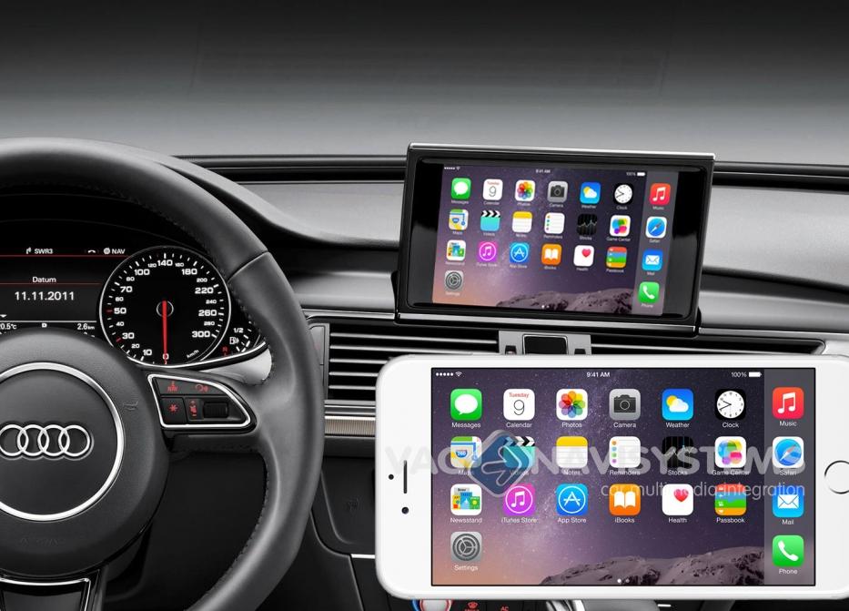 Kit De Reequipamiento Screen Mirroring Rmc Mmi 3g Low Y High Audi Con Pantallas De 6 5