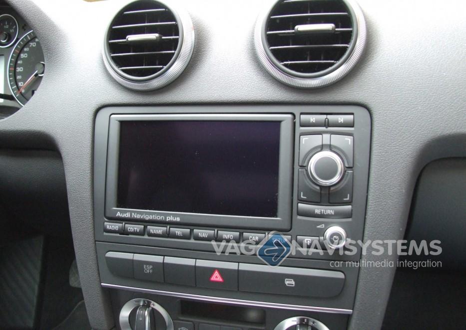 audi navigation plus rns e dvd chrome 8p0035192s audi a3 s3 rh vag navisystems com audi a3 mmi navigation plus manual pdf Audi A3 Dashboard