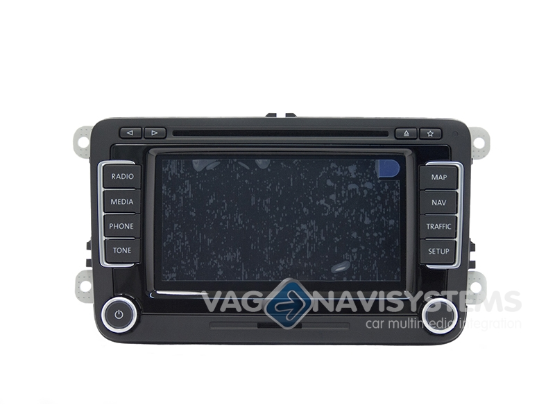 Navigation system RNS 510 LED - Volkswagen MFD3 - 1T0035680R with