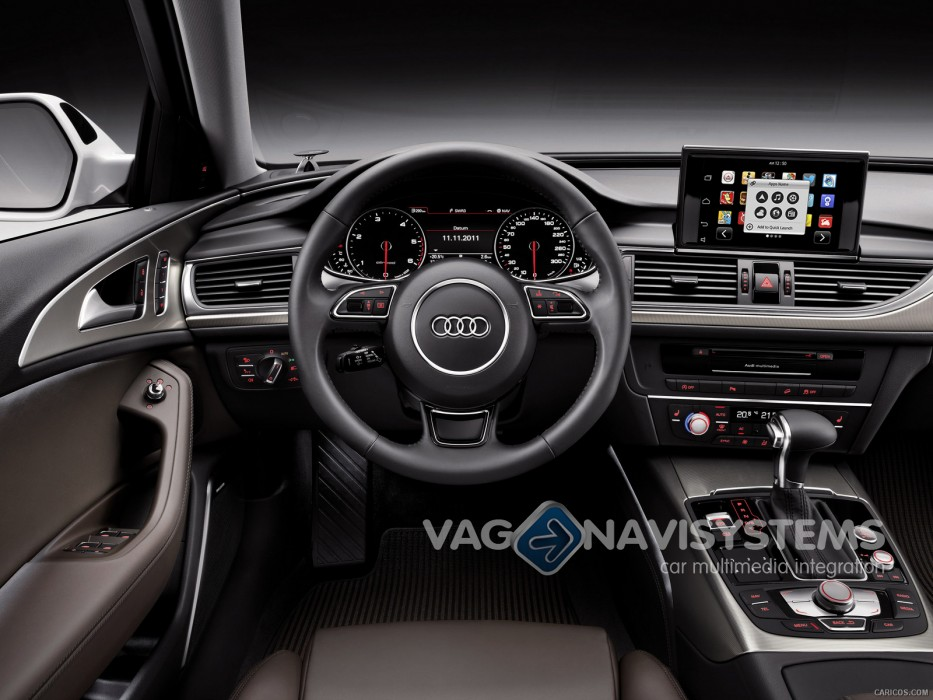 Audi A6 4g Low >> Navegador táctil - NaviTouch® Android - GPS, Wifi, 3G, USB, SD - Audi A6, A7 (4G), A8 (4H) - RMC ...