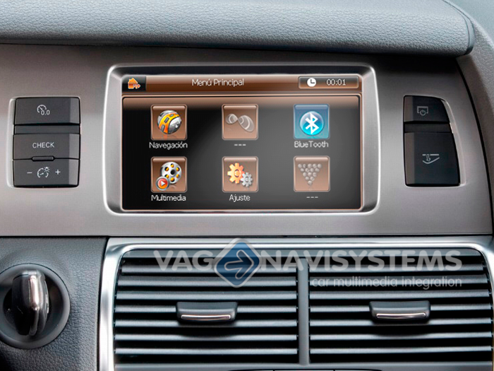 Touch Navigation System - NaviTouch® WinCE - GPS & Multimedia - Audi