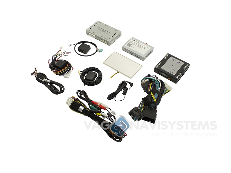 Touch Navigation System Navitouch 174 Wince Gps Amp Multimedia Audi A1 Q3 Radio Media Center