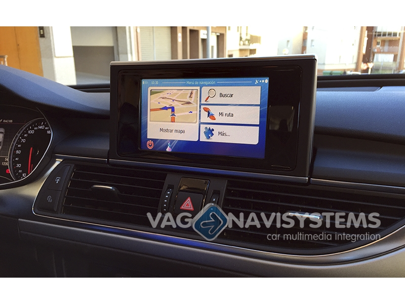 Audi A6 4g Low >> Touch Navigation System - NaviTouch® WinCE - GPS & Multimedia - Audi A6, A7 (4G) - RMC, MMI 3G ...