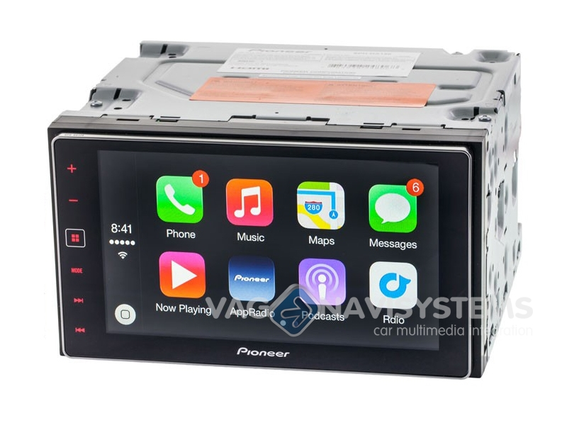 Pioneer Appradio 4 Sph Da120 Carplay Android Bluetooth
