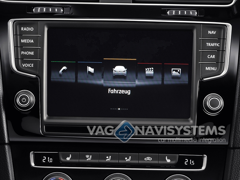 Genuine Volkswagen Discover Pro MIB 1 navigation system with