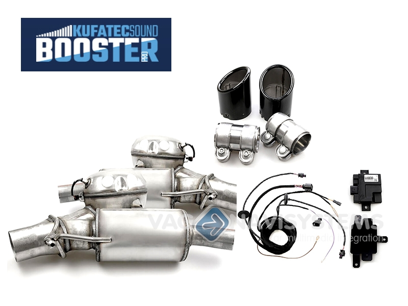 Sound Booster Pro Plete Specific Kit With Active Module Audi A4 8k A5 8t 2730 Tdi External: Audi A4 Exhaust Sound At Woreks.co