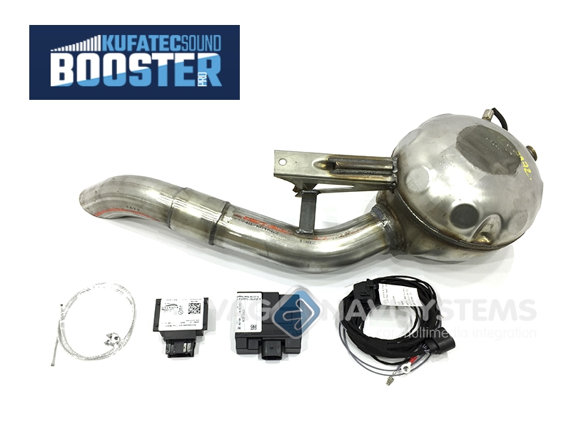 Sound Booster Pro Plete Specific Kit With Active Module Audi A4 B6b78e 18t External: Audi A4 Exhaust Sound At Woreks.co