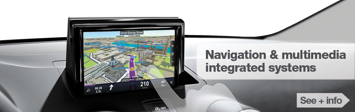 Navigation and multimedia integrated systems